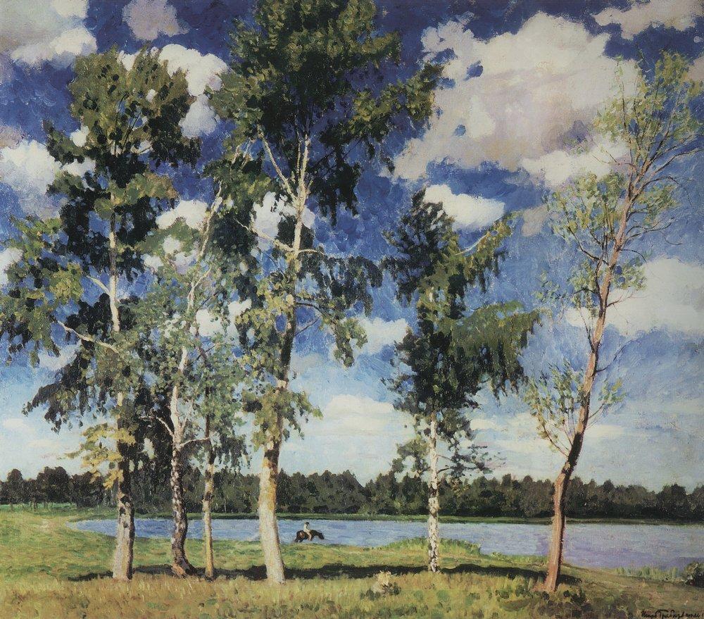 Изветные картины мастера на озере 1926